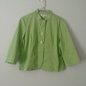 Coldwater Creek Womens Petite Blazer Jacket